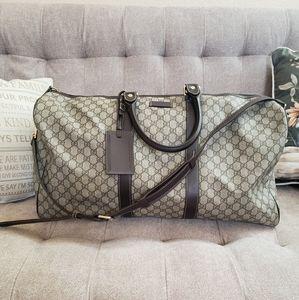 Gucci GG plus monogram duffle bag